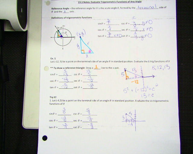Unit 11: Trigonometric Functions - Math With Mrs. Drost